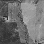 1930's view of Silver Creek in Shelby County, Iowa