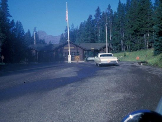 1966 Northeast Entrance of Yellowstone National Park